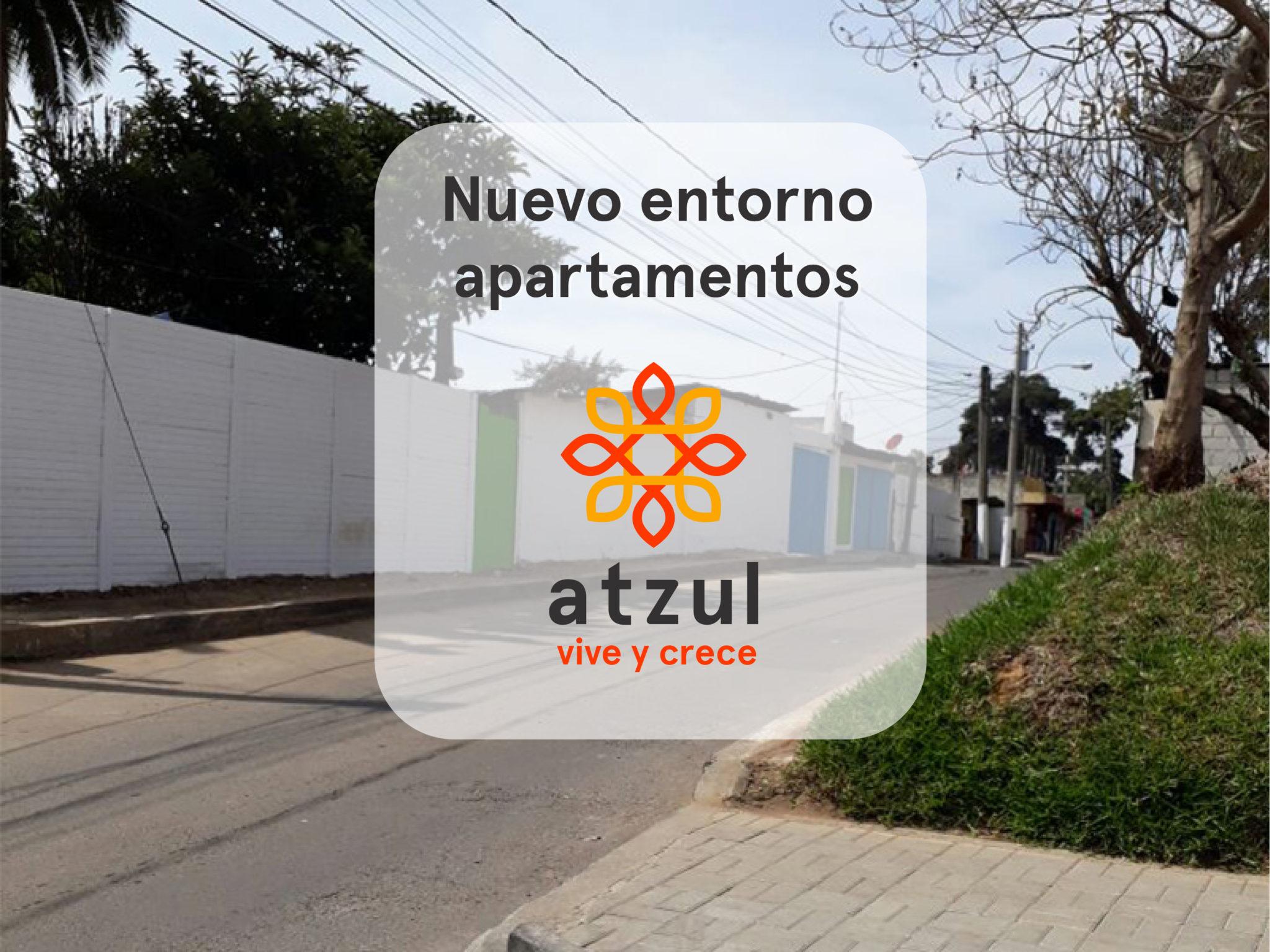 Nuevo entorno Apartamentos Atzul